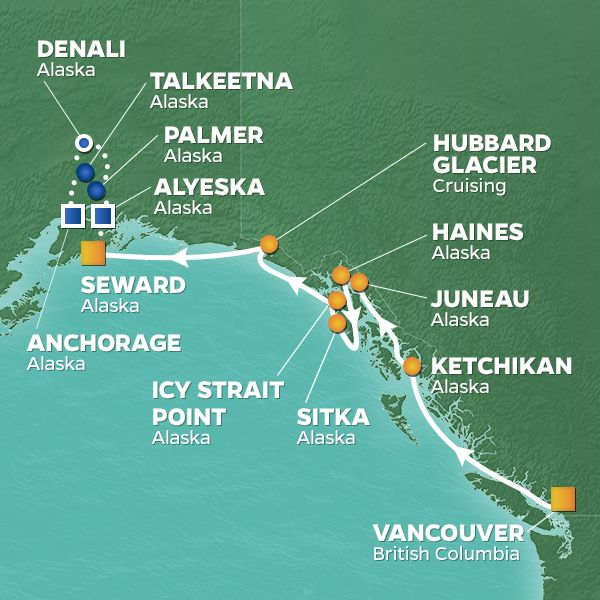 Icy Strait Point Alaska Map.Culture Cuisine And Conservation Voyage To Alaska June 2019